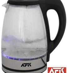AFK Glazen Waterkoker met LED verlichting