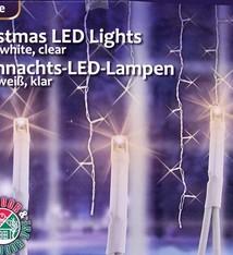 Kerstverlichting ijspegels wit (240 LED's)
