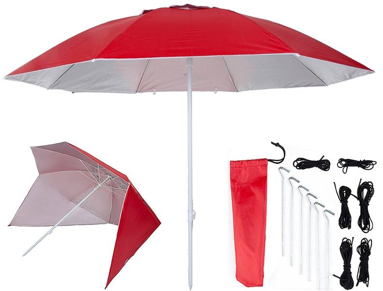 Pure2Improve UV shelter 240cm rood