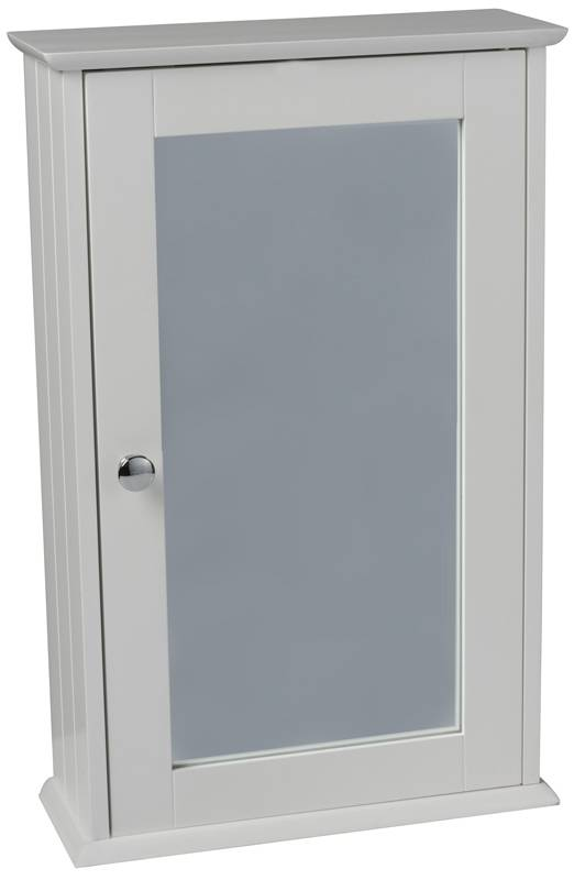 HomeStyle Muurkastje met spiegel 34x15x53cm
