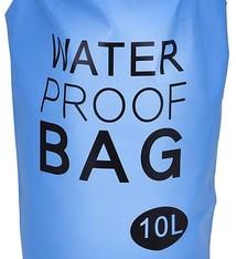 Waterdichte tas 10L blauw