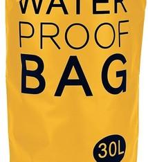 Waterdichte tas XXL 30L geel