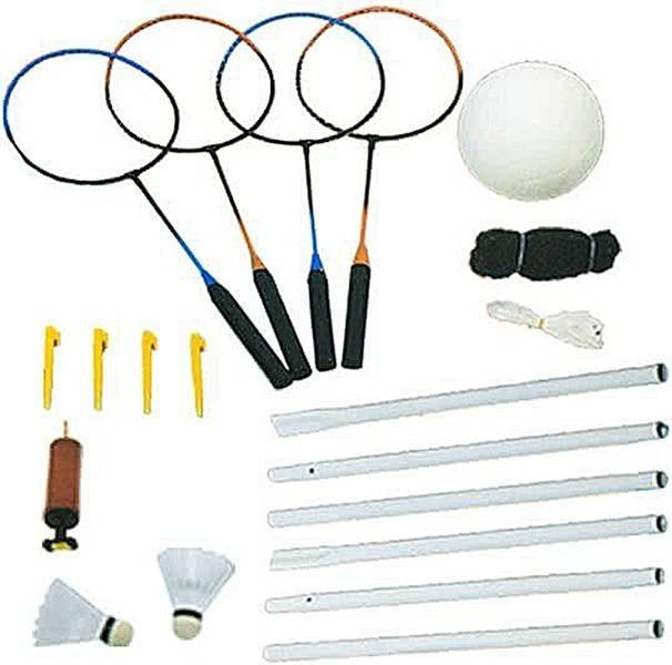 Volleybal en Badmintonset