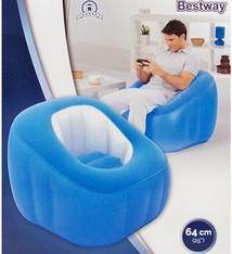 Bestway Lounge Comfi Cube blauw