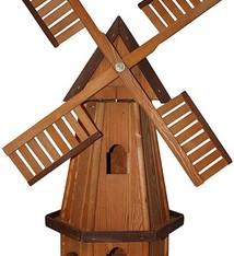 Houten Windmolen 6-hoekig