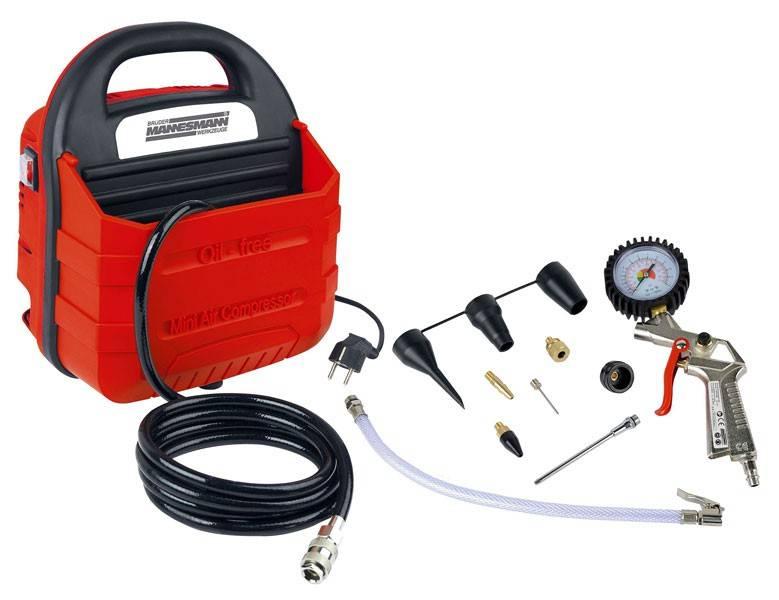 Bruder Mannesmann Compressor met accessoires (11 delig)