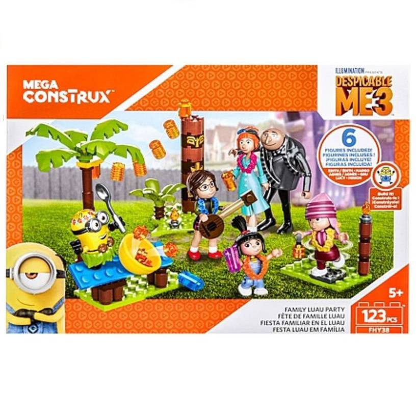 Mega Construx Despicable Me3 Family Luau Party