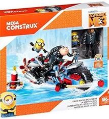 Mega Construx Despicable Me3 Gru's Water Motorbike