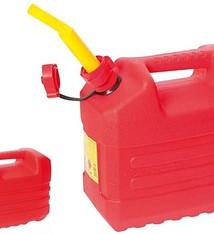Benzine jerrycan met tuit 10 Liter