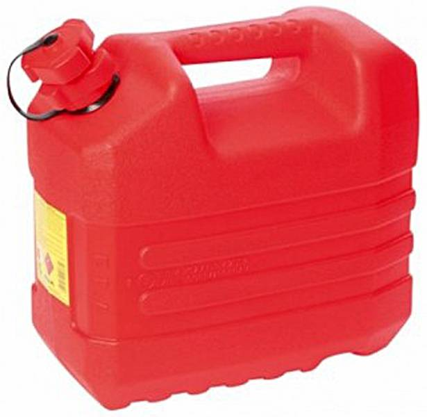 EDA Benzine jerrycan met tuit 10 Liter