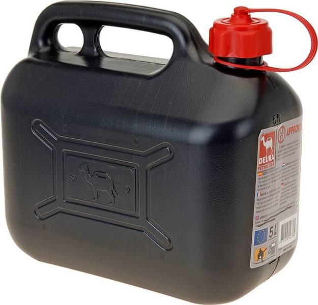 Jerrycan met opschroefbare schenktuit 5 liter