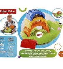 Fisher-Price Stapel & Schommel Krokodil