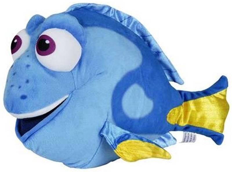 Disney Finding Dory pluche knuffel 50cm blauw