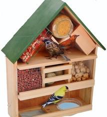 Lifetime Garden Luxe vogelvoederhuis 44x12x39cm