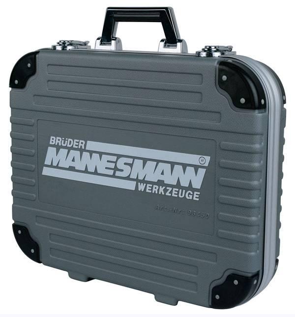 Bruder Mannesmann  Doppen-, bits-, ringsteeksleutelset (232 dlg) in koffer