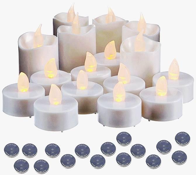 Grundig LED theelichtjes - 16 stuks