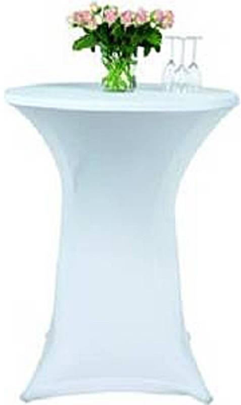 Statafelrok stretch 75-85cm wit