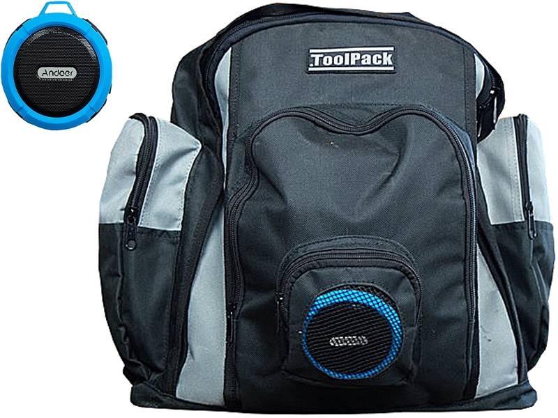 ToolPack Gereedschaps rugzak met Bluetooth speaker