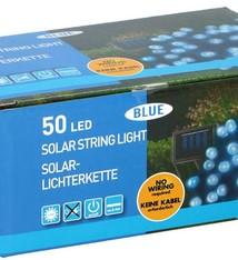 Grundig Solar snoerverlichting 50 LED's blauw