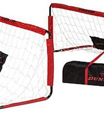 Dunlop Dunlop Set van 2 voetbaldoelen (150x60x60)