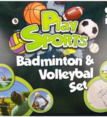 Badminton en Volleybalset