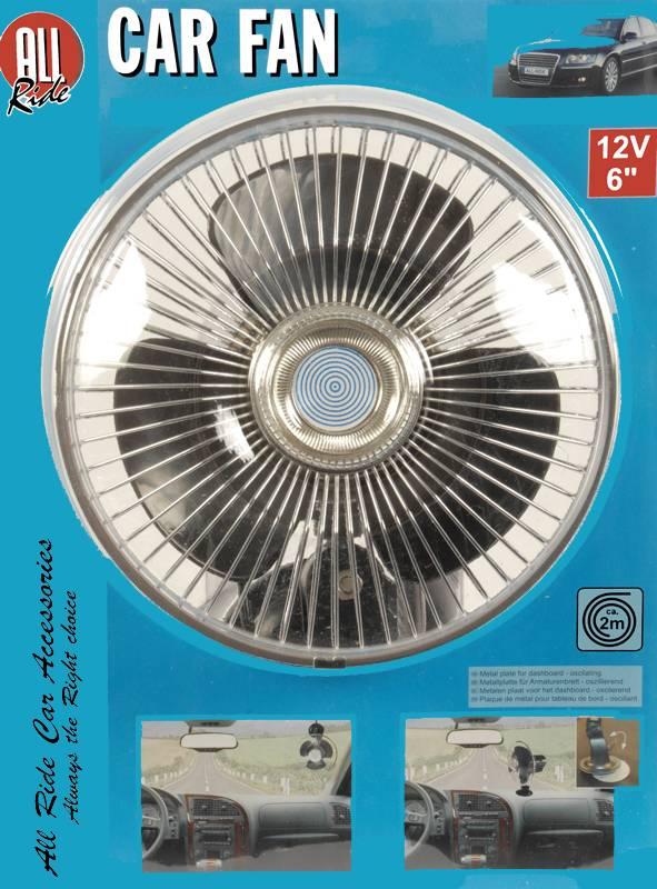 All Ride Auto-ventilator met zuignap (12V)
