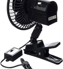 All Ride Auto-ventilator 12V met klem