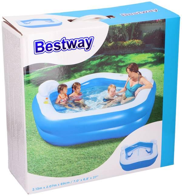 Bestway Familiebad 213x207x69cm