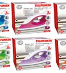 Telefunken Stoomstrijkijzer 2200W (6 designs)