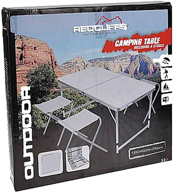 Redcliffs Campingset - 5 delig