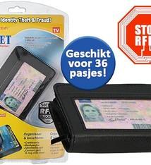 Safe Wallet Pasjeshouder met RFID beveiliging
