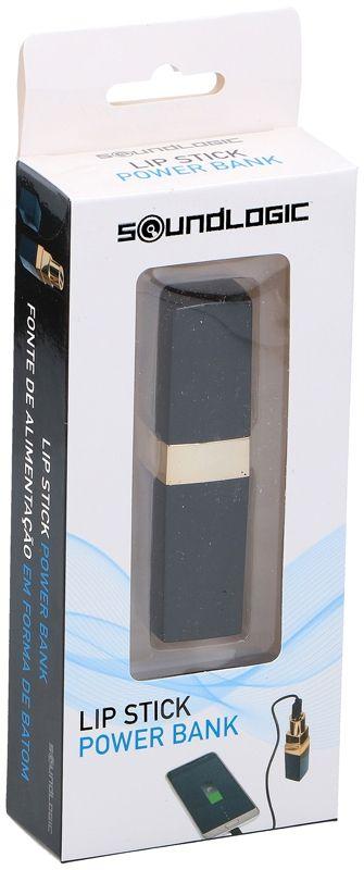 "Soundlogic Powerbank  ""Lipstick"" - 2000mAh"
