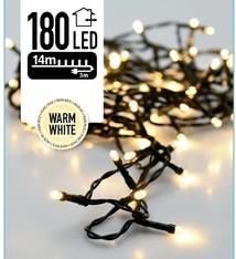 DecorativeLighting Kerstverlichting 180 LED's 13.5 meter warm wit