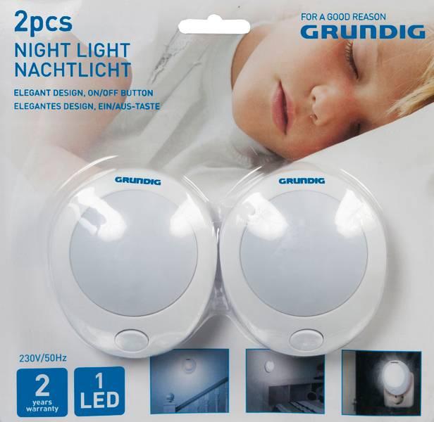 Grundig Nachtlampen (set van 2 stuks)