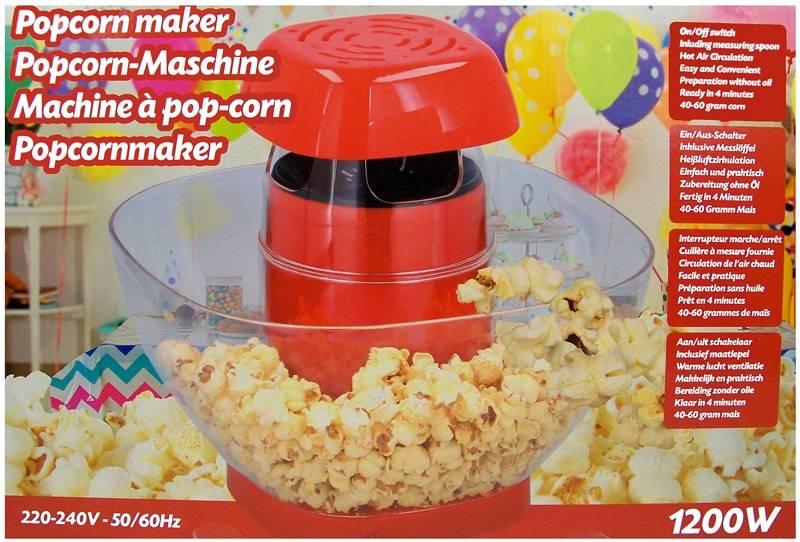 Popcornmaker - 1200W