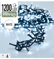 DecorativeLighting Micro Cluster 1200 LED's 24 meter wit