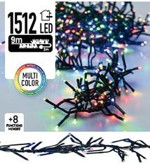 DecorativeLighting Clusterverlichting 1512 LED 11m multicolor