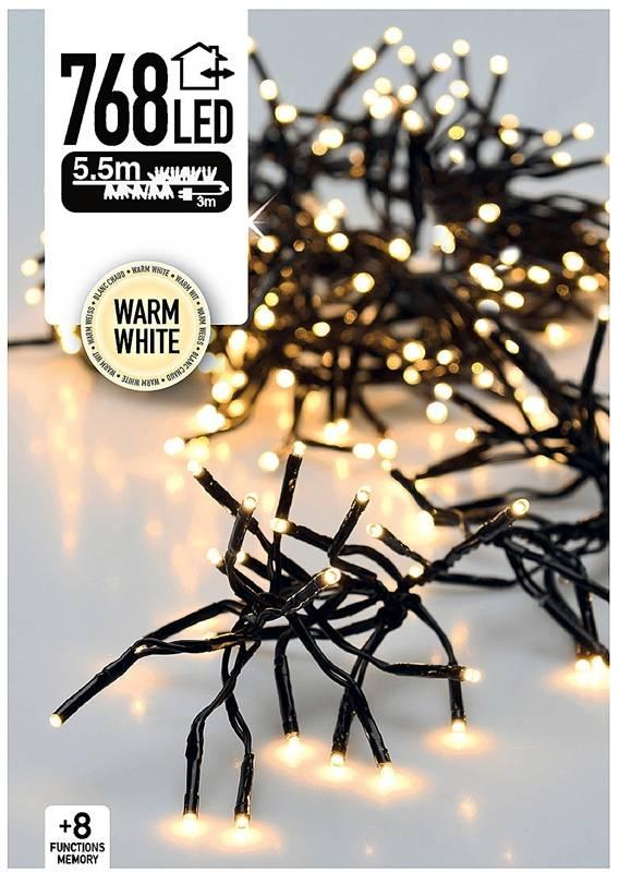 DecorativeLighting Clusterverlichting 768 LED 5.5m warm wit
