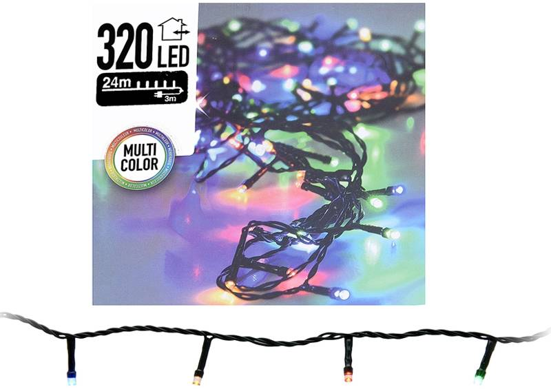 DecorativeLighting LED-verlichting 320 LED's 24 meter multicolor