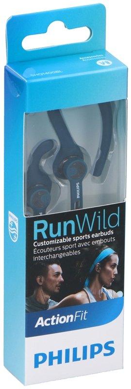 Philips SHQ1400BL/00 RunWild oordopjes blauw