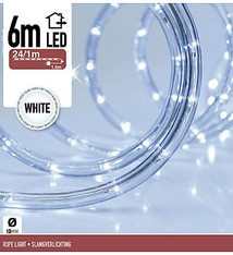 LED Lichtslang 6 meter wit