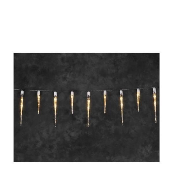 IJspegelsnoer met 16 pegels - 3.75 meter - extra warm wit