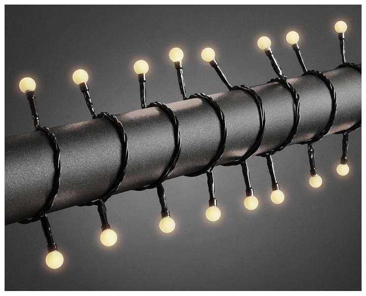 LED Lichtsnoer 80 lichtbolletjes - 6.30 meter - warm wit