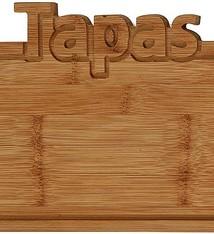 Excellent Houseware Bamboe snijplank -Tapas - 25x17cm