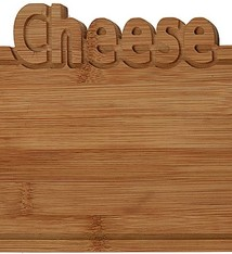 Excellent Houseware Bamboe snijplank -Cheese - 25x17cm