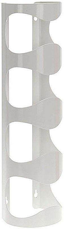 Excellent Houseware Metalen Wijnrek - muurmodel - wit