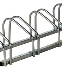 Bicycle Gear Fietsenrek voor 4 fietsen (wand- en vloerbevestiging)