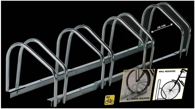 Dunlop Fietsenrek voor 4 fietsen