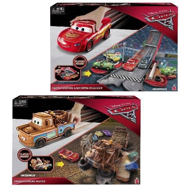 Disney Cars Disney Cars 3 Transforming Mater of McQueen Assorti