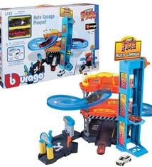 Burago Burago 1:43 Garage Inclusief 2 Auto's